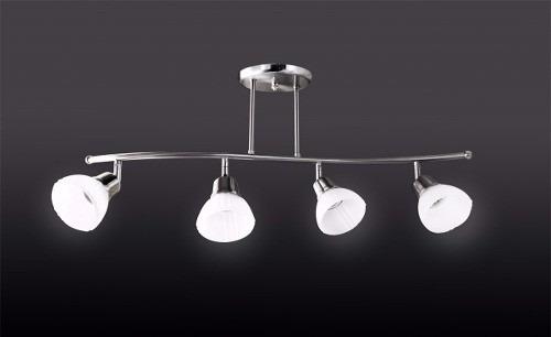 colgante s 4 luces con lamp  led 100w garantía