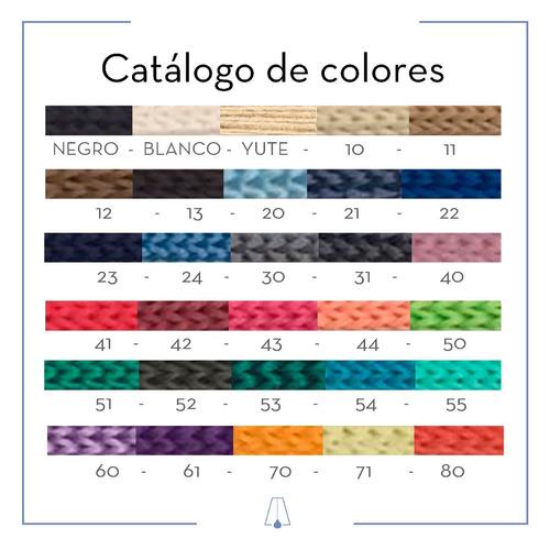 colgante textil iris artelamp