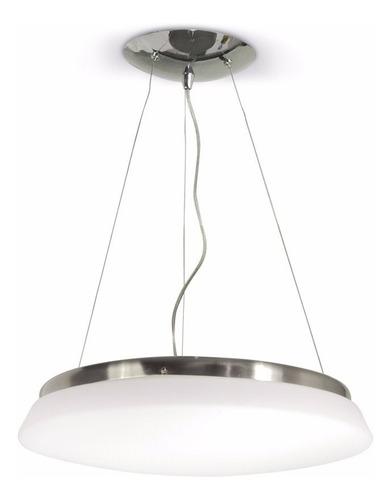 colgante venus 4 luces vidrio opal 45cm apto led luz desing