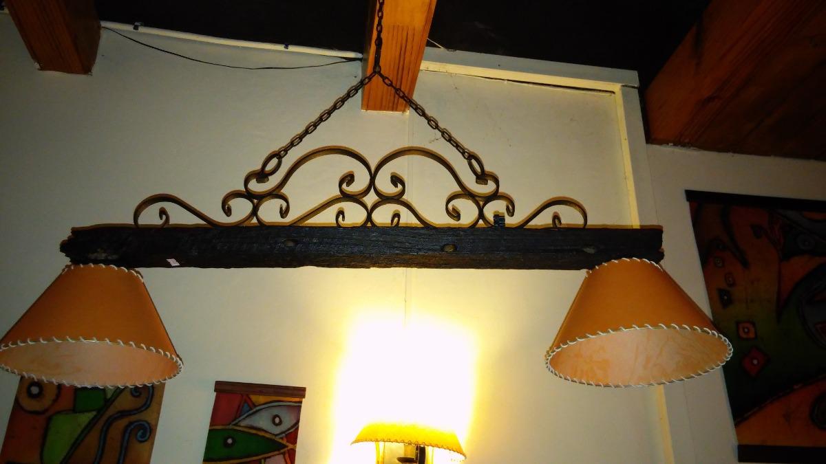 Colgantes R Sticos Hierro Y Piques De Alambrado 1 500 00 En  # Muebles Hechos Con Piques