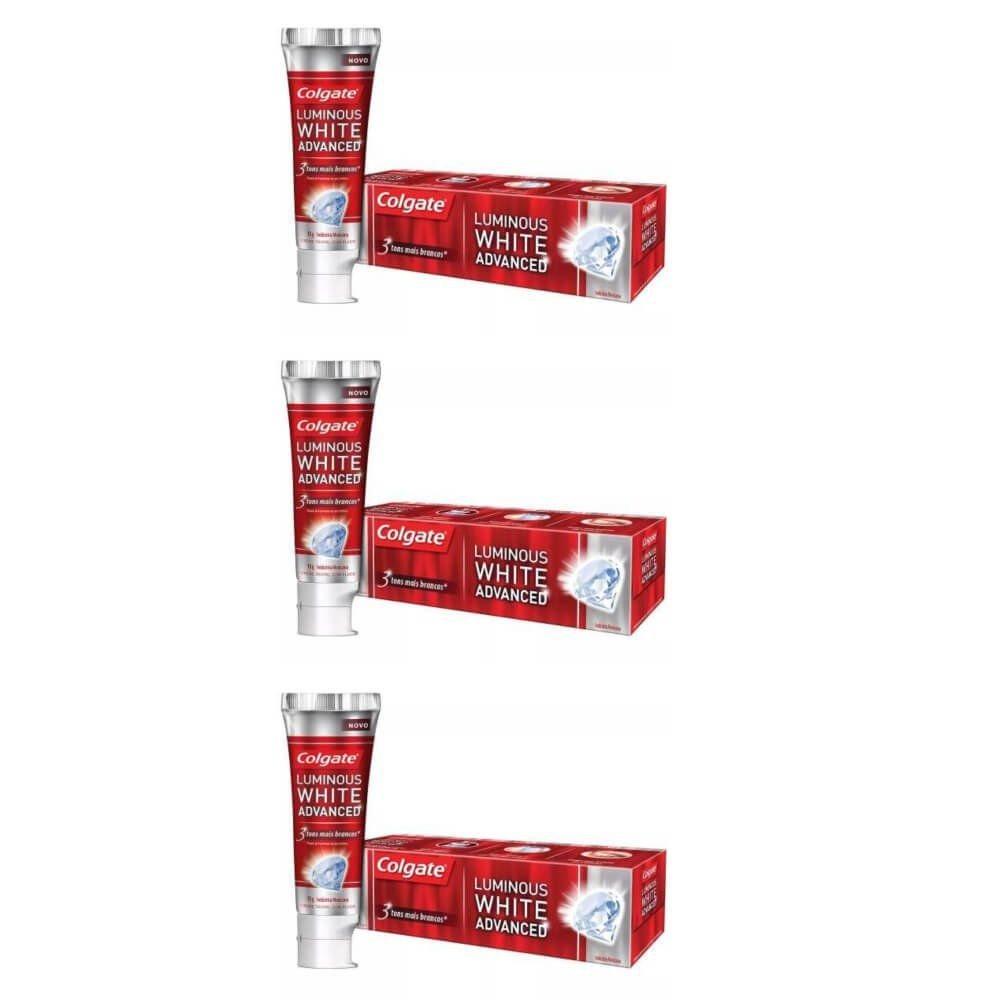 Colgate Luminous White Creme Dental 70g Kit C 03 R 43 02 Em