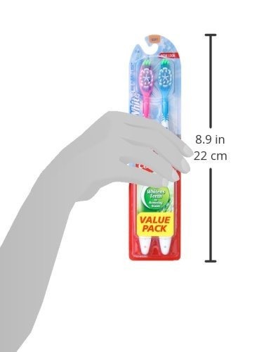 colgate max white whitening cepillo de dientes, suave (paque