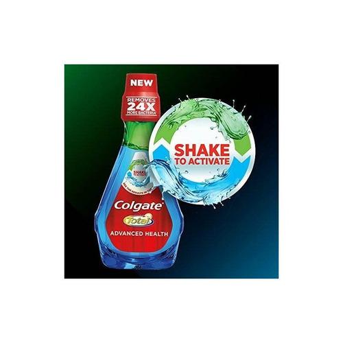 colgate total advanced health mouthwash, fresh mint - 800 ml