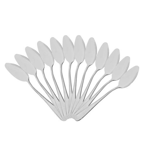 colher inox de sobremesa piamonte 12pç hercules ct 2500/004