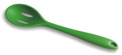colher inteiriça silicone ref.d6712 bono (verde)