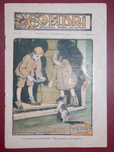 colibrí páginas para los niños, set 1923, aguila saint, 16 p