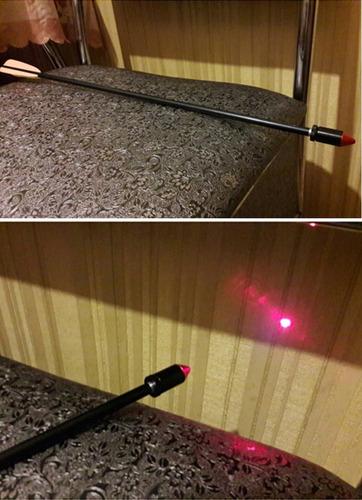 colimador flecha arco mira laser red dot caceria ballesta
