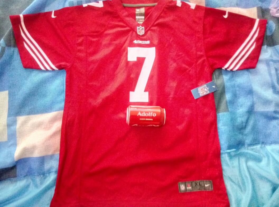 142bb7736 Colin kaepernick san francisco ers red home player jersey cargando zoom jpg  1056x784 Colin kaepernick jersey