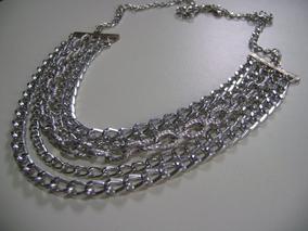 d72a335400ce Cadena Collar Rolo Aluminio Bijouterie - Cadenas y Collares Sin dije en  Mercado Libre Argentina