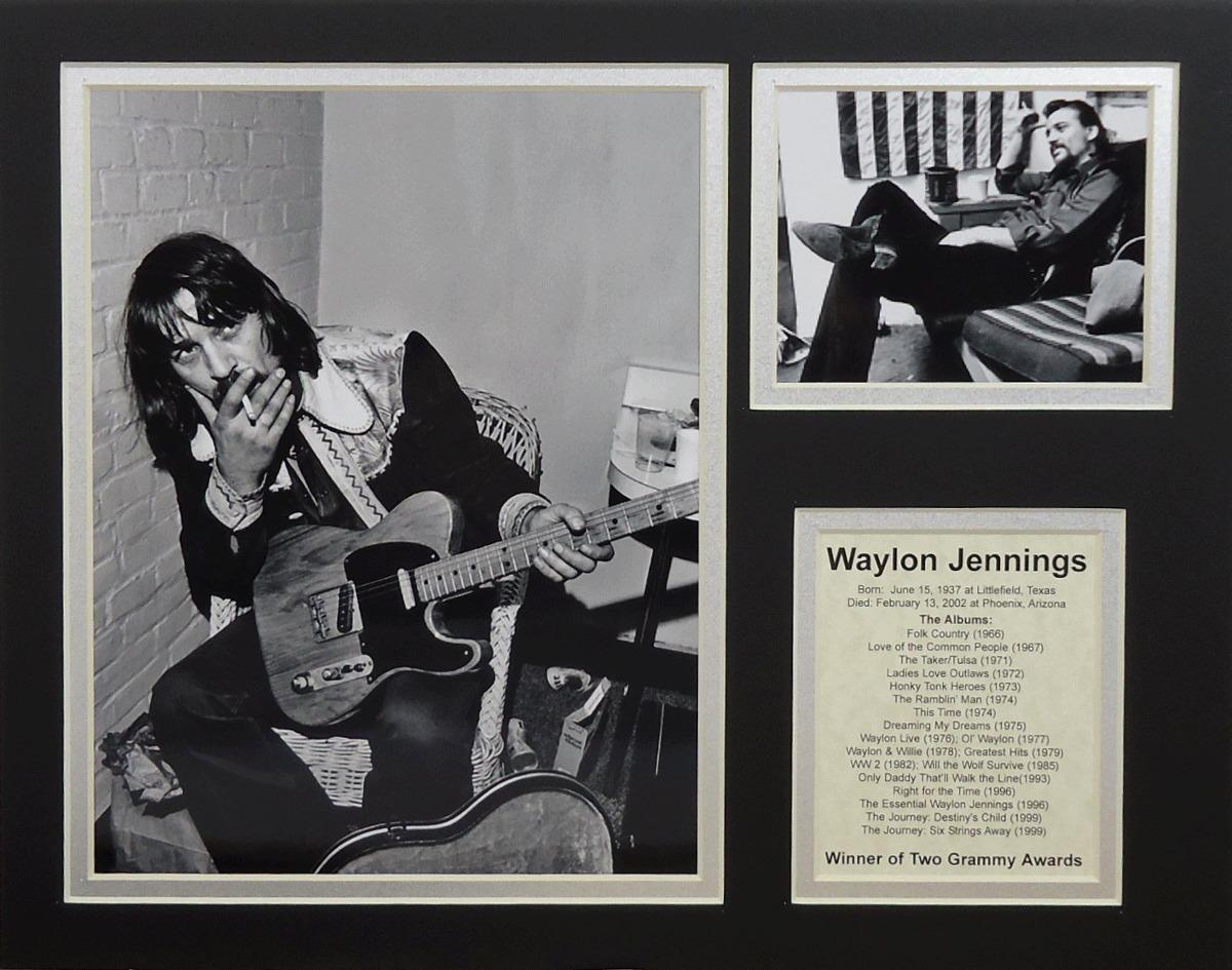Collage De Fotos Enmarañadas Sin Marco Waylon Jennings D ...