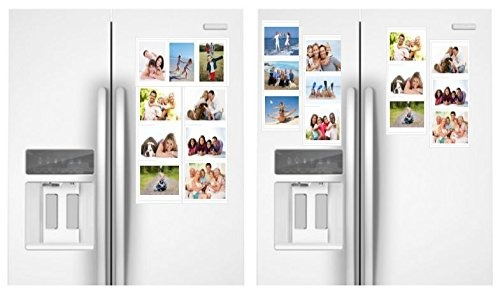 Collage De Marcos Magnéticos Blancos Para Refrigerador, Arm ...