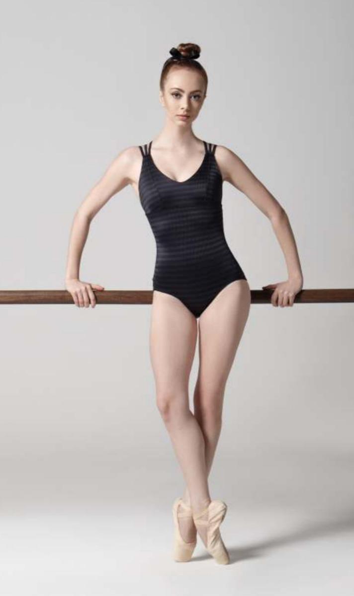 24fffec73b Collant Body Ballet Petipa Alças Alta Compressao - R  119