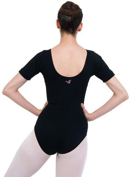8d1216fd49 Collant Colan Body Maiô - 1 2 Manga - Roupa Dança Ballet - R  29