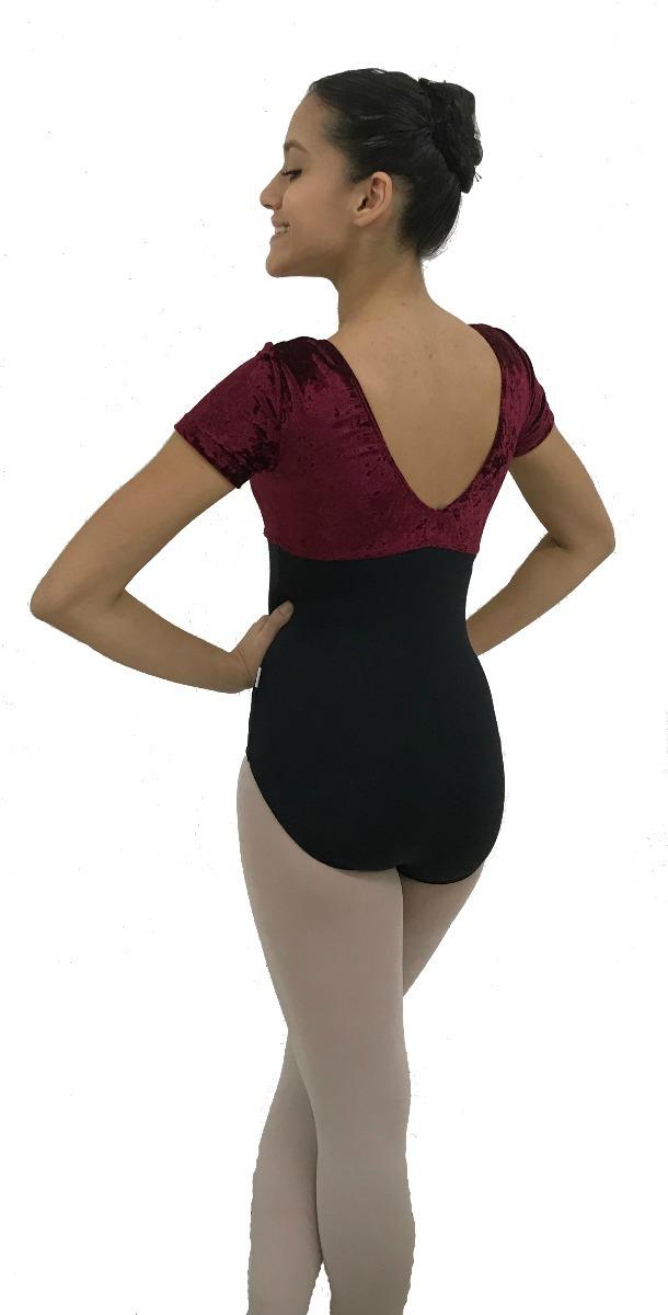 37333c2438 Collant Meia Manga Adulto Veludo Ballet