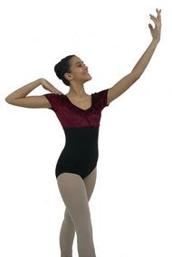 54d187b9b6 Collant Para Ballet Meia Manga no Mercado Livre Brasil