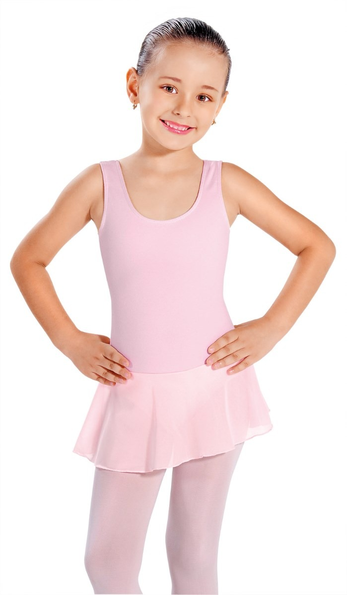 6e948c46d7 collant regata infantil ballet em helanca c  saia em jersey. Carregando zoom .