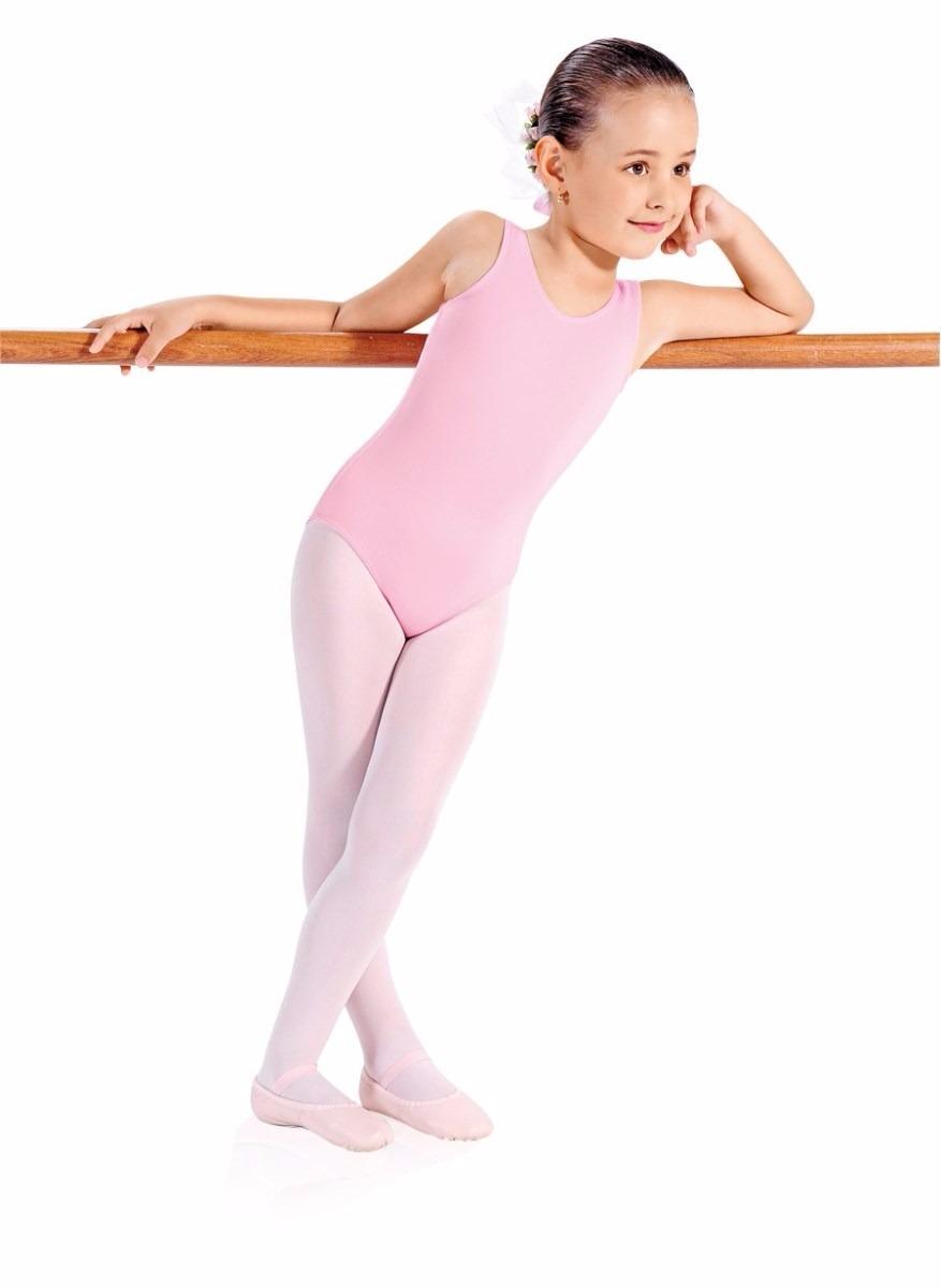 adfef18227 Collant Regata Para Ballet Rosa (infantil) - Capezio - R  43