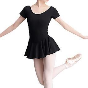 18f7def0a4 Collant Regata + Saia Novo - Ballet - Capezio Infantil Preto - R  45 ...