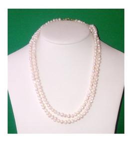 7c1d58a6bf1e Collar 1 Metro Perla Cultivada Barroca Pulsera Aretes A057