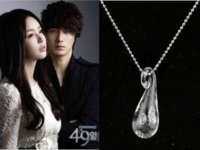 Collar 49 Dias Days Tear Drop Dorama Coreano