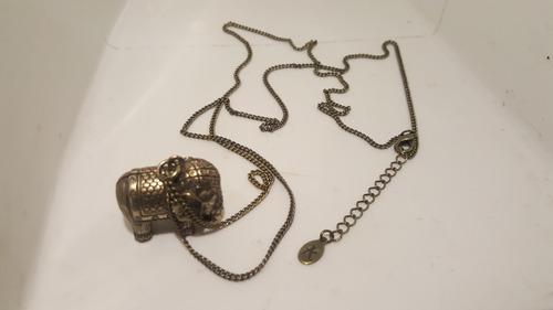 collar accessorize original de elefante
