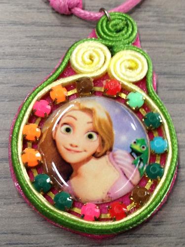 collar ajustable niña rapunzel