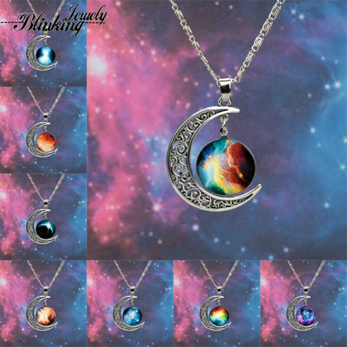 collar amuleto cosmico de la suerte