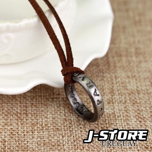 collar anillo de uncharted 3 sir francis drake ps3 ps4 juego