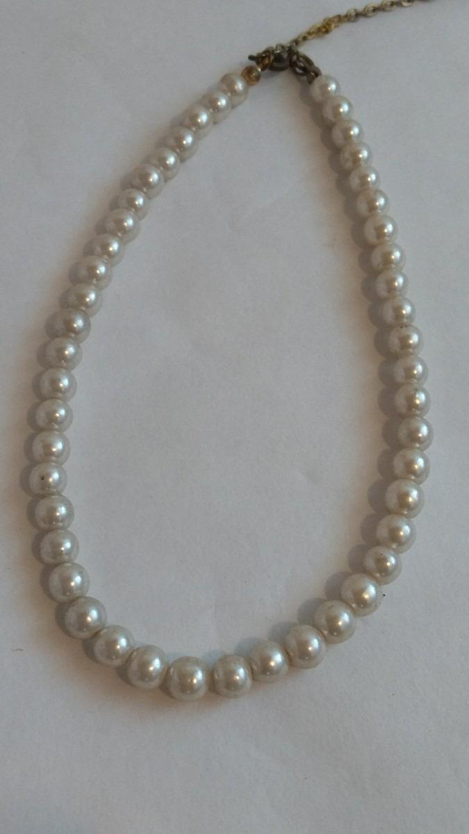 1be359beb0c6 collar antiguo perlas con broche. Cargando zoom.