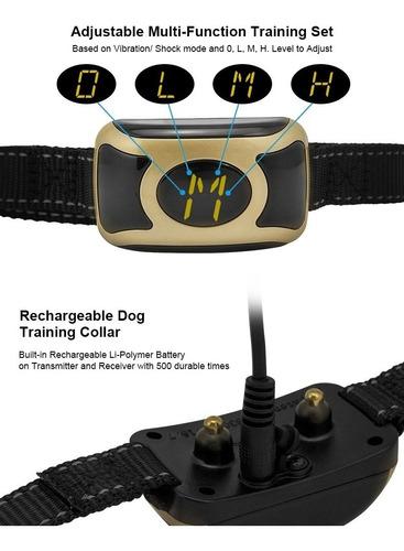 collar antiladrido perros anti ladrido
