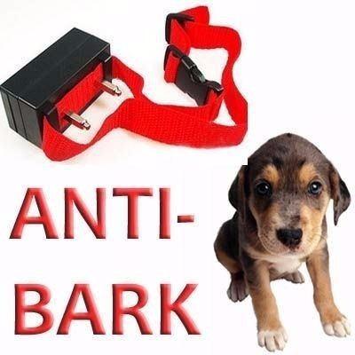 collar antiladrido ultrasonido con impulso eléctrico perros