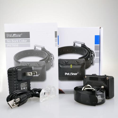 collar antiladridos impulso eléctrico + vibracion recargable