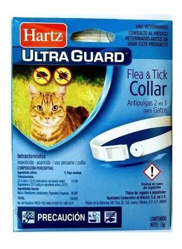 collar antipulgas gato 2 piezas + peine quita pulgas