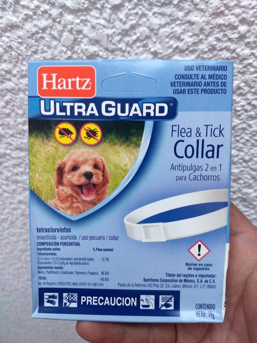 bb1c88947ee5 Collar 2 En 1 Antipulgas Garrapatas Perros Cachorro 15 Hartz ...