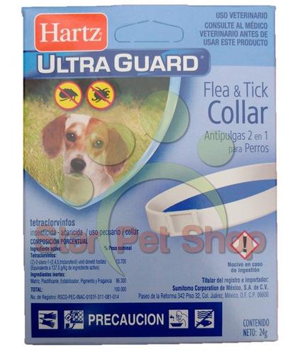 collar antipulgas p/perros unitalla
