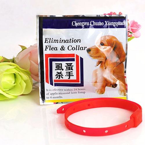 collar antipulgas y garrapatas para perros