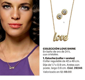 1edc81ed675f Collar Love Unique - Collares y Cadenas en Mercado Libre Perú