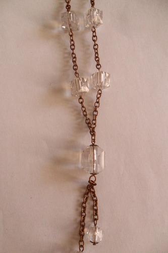 collar + aros colgante bijouterie accesorio moda