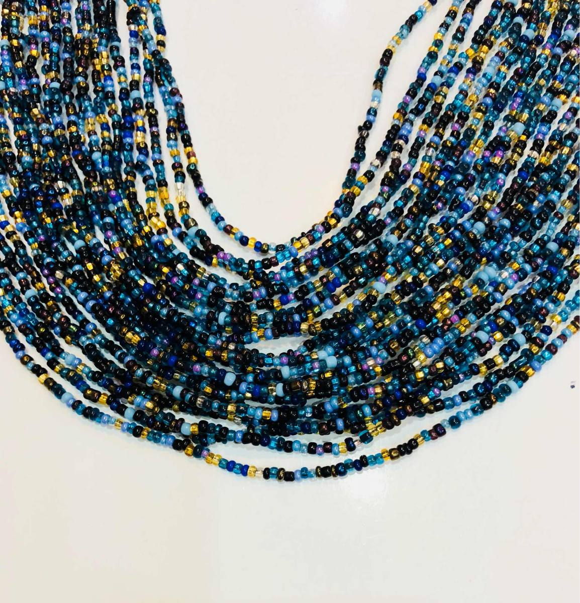 677147742e69 collar artesanal azul accesorios moda dama joyería bisuteria. Cargando zoom.