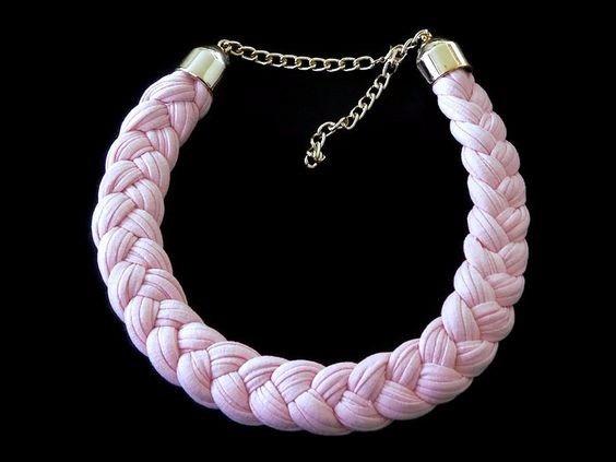 47e23116fb8c Collar Artesanal Tejido Para Adornar Moda Bisutería -   49.00 en ...