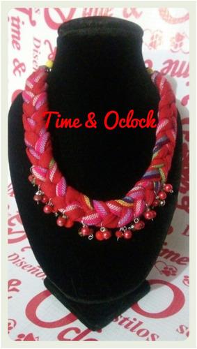 collar artesanal variedad en estilo, diseño y moda