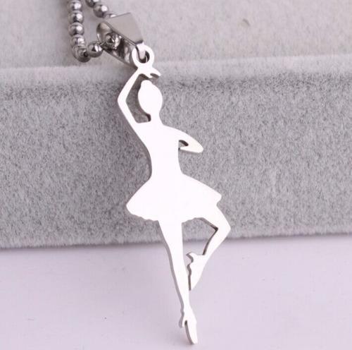 collar bailarina ballet acero 316l
