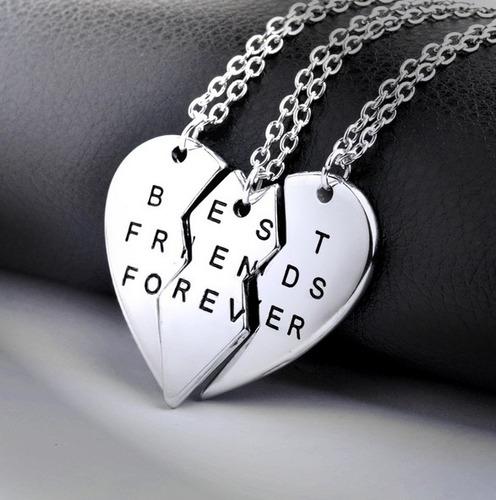 collar bff amigas best friends para combinar tu estilo 3x1