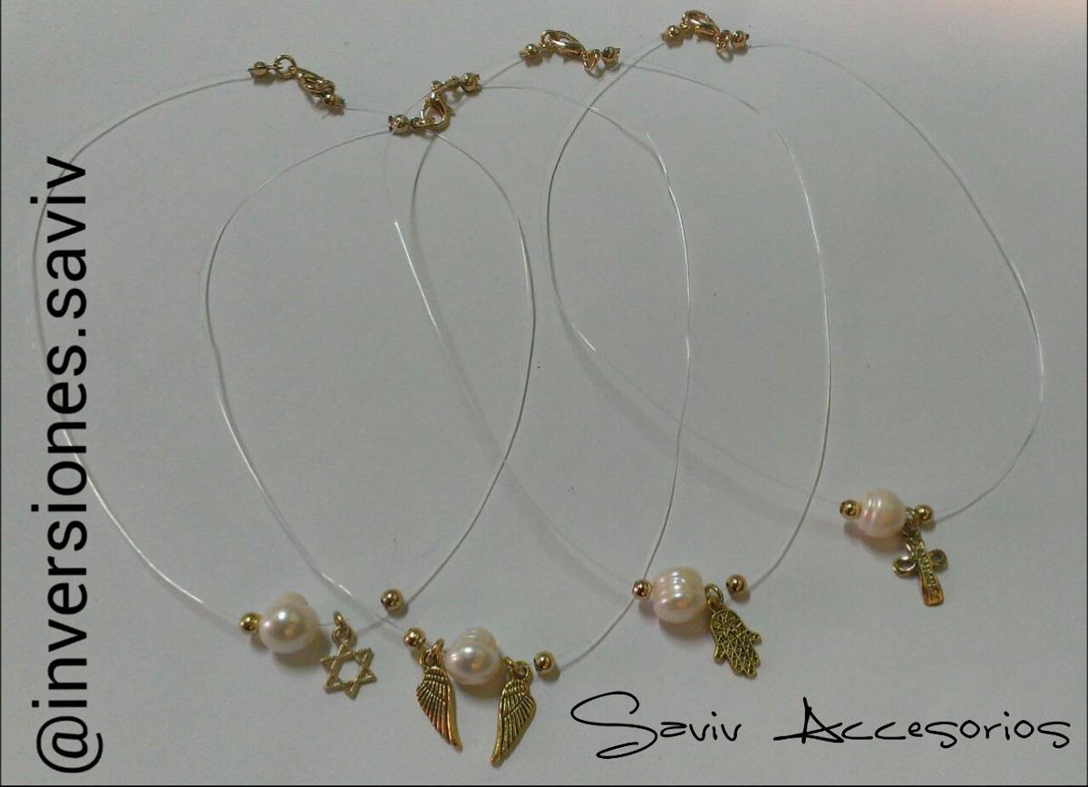100072c4c19b collar bisuteria perlas. Cargando zoom.