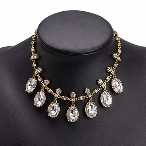 3916fe2d7631 Collar Bisuteria Vintage La Mejor Moda Para Mujer -   100.00 en ...