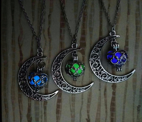 collar brilla oscuridad envio gratis dark luna cute regalo