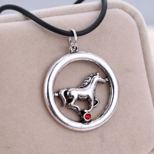 collar caballo red ball regalo amor amistad n-075