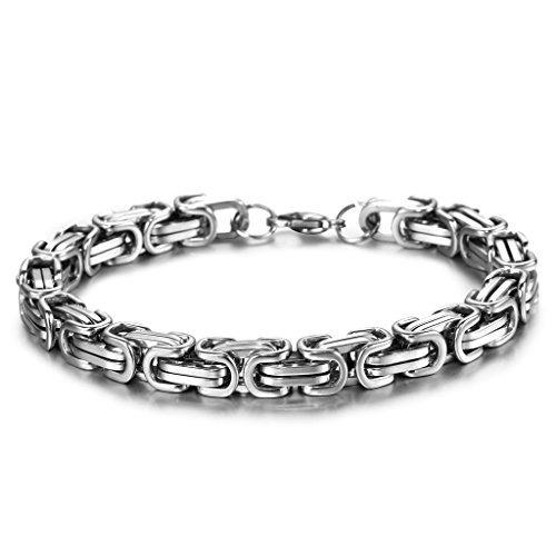collar cadena acero