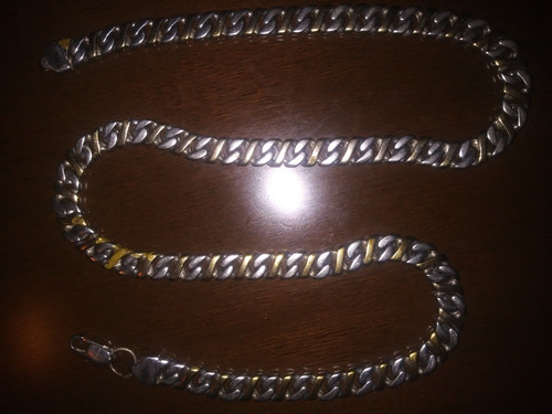 collar cadena acero inoxidable para hombres