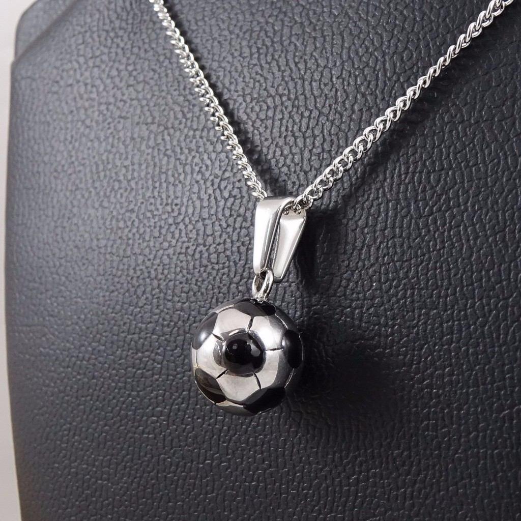 2a1741d96fab collar cadena dije pelota de futbol acero quirúrgico 316l. Cargando zoom.